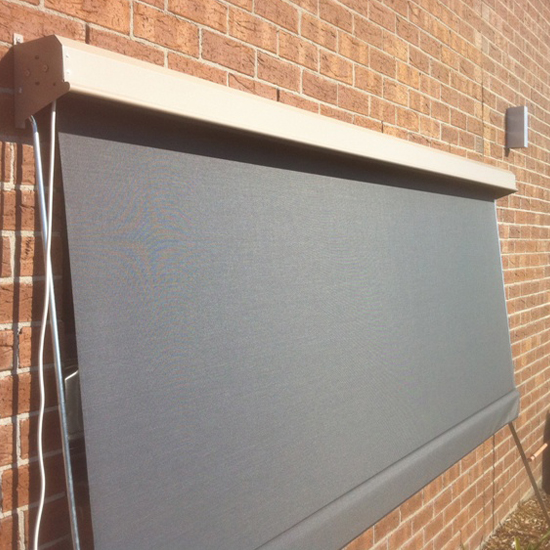 Fixed Guide Outdoor Blinds